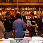 Book signing in Boston